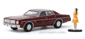 1976 Dodge Coronet with Woman in Dress - Hobby Shop Series 8