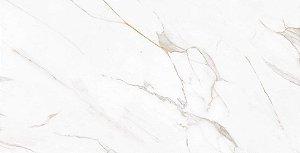 Porcelanato Gran Calacata Gold Lux P60523 62X120 cm