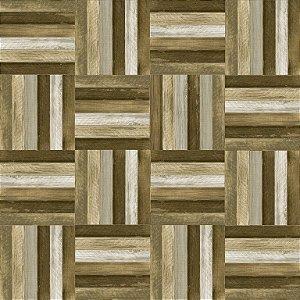 Porcelanato Deck Wood Sândalo Mix AC 60X60 cm