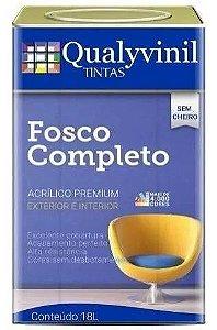 Qualyvivinil Fosco Ultra Lavável Branco 18 LT