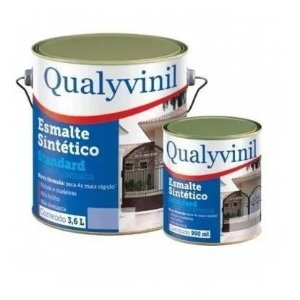 Qualyvinil Esmalte Sintético Brilhante   ( Preto ) 3.6 LT