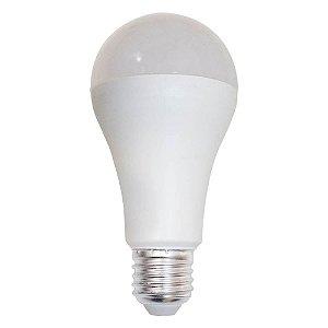 Lâmpada Led 15w Bulbo E27 A65 Branco Frio 6000k