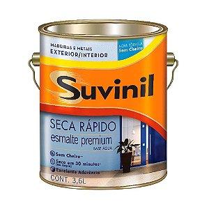 Esmalte Seca Rápido base água brilhante 3,6 litros Suvinil