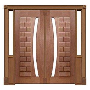 Portal Pivotante - 095 - Ibiza para Vidro em Arco