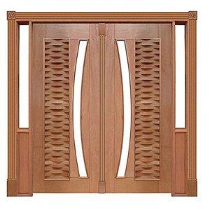 Portal Pivotante - 135 - Ripada para Vidro em Arco
