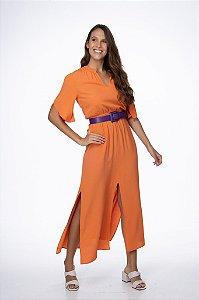 Vestido Teresa Laranja