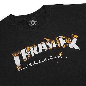 Camiseta Thrasher Magazine Intro Burner