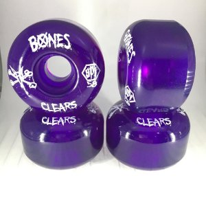 Rodas Bones SPF 58mm Clears