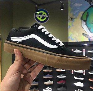 Tênis Vans Old Skool Pro Black/Gum