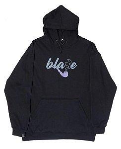 Moletom Blaze Supply Hoodie Blaze Smoke Black