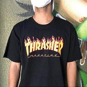 Camiseta Thrasher Magazine Classic Flame