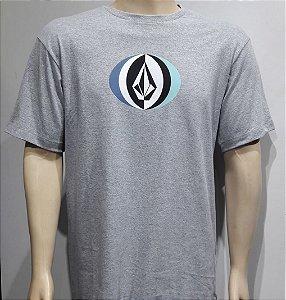 Camiseta Volcom Layer Round Cinza