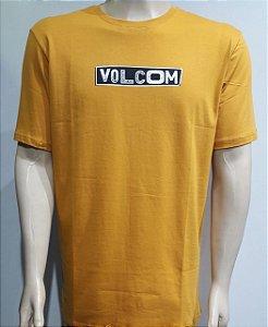 Camiseta Volcom Pist Shane Amarela