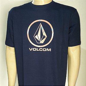 Camiseta Volcom Pattern Fill Azul