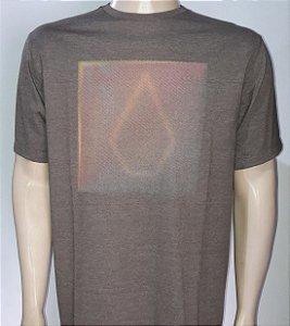 Camiseta Volcom New Box Marrom