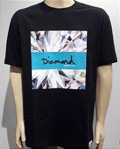 Camiseta Diamond Script Box