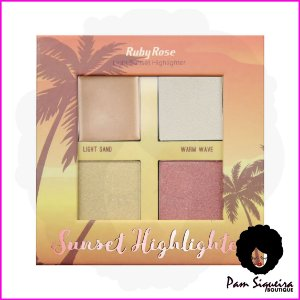 Iluminador Sunset Highlighter Light - Ruby Rose