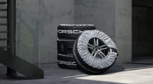 Sacos de transporte de pneus.