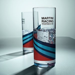 Conjunto de 2 copos long drink, MARTINI RACING