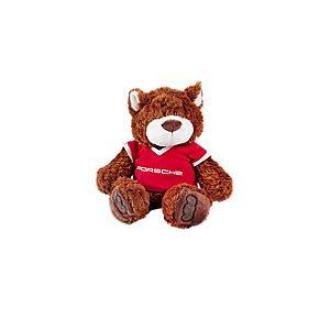 Ursinho Teddy, de pelúcia.