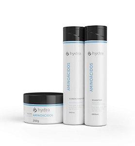 Kit Aminoácidos Hydra Cosméticos 3 Produtos