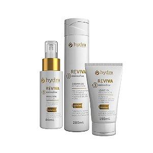 Kit Reviva 3 Minutos para cabelos sem vida (3 Produtos)