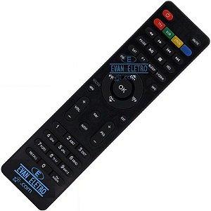 Controle remoto pata receptor Cinebox SKY-7500 Atacado