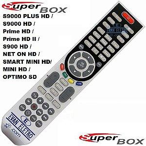 Controle Remoto para Receptor superbox sky-7005