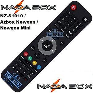 Controle remoto para receptor Nazabox SKY-7021