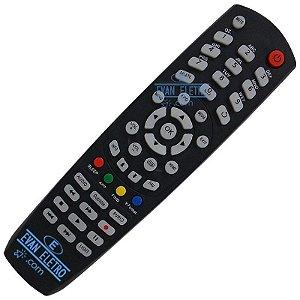 Controle remoto para receptor  Gobox SKY-8029 / FBG-8029