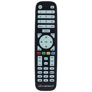 Controle remoto para receptor Azamerica SKY-9039