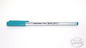 Caneta Triball Esferográfica - Azul Piscina