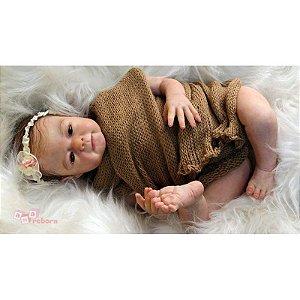 Bebê Reborn em Vinil Soft *LUA*