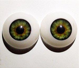 Olhos Verdes 12 MM *importado* sd04