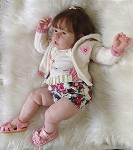 Bebê Reborn em Vinil  *Rowena* A PRONTA ENTREGA KIT ORIGINAL