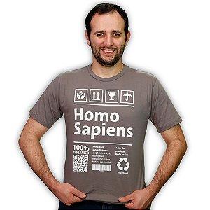 CAMISETA HOMO SAPIENS ADULTO