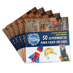 LIVRO - 50 EXPERIMENTOS PARA FAZER EM CASA - AUTOGRAFADO