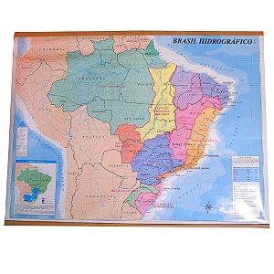 MAPA DO BRASIL HIDROGRÁFICO