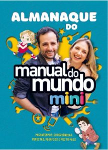 Almanaque do Manual do Mundo Mini - AUTOGRAFADO