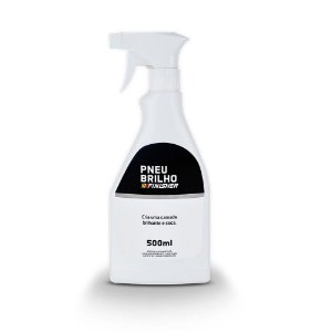 Pneu Pretinho  Brilho  Finisher Spray de 500ml