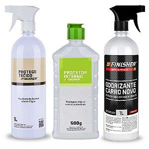 Kit De Limpeza e Proteção Interna de Veículos - Finisher