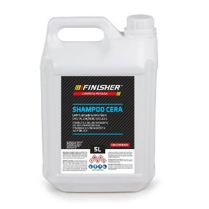 Shampoo Cera Finisher, Limpa, Encera e Mantem a Cristalização - 5 Litros