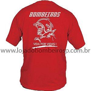 Camiseta Vida por Vidas Vermelha