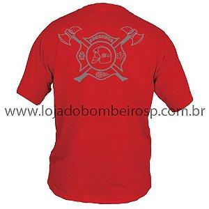 Camiseta Cruz de Malta Vermelha