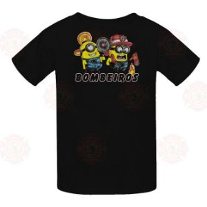 Camiseta Minions Preta
