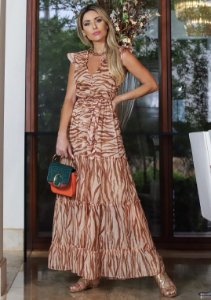 VESTIDO ANIMAL PRINT TIFFANY