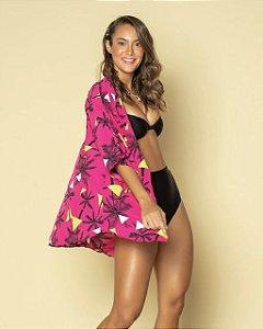 Kimono Coqueiro Pink
