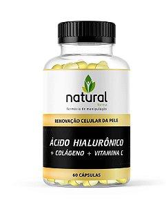 Ácido Hialurônico + Colágeno + Vitamina C
