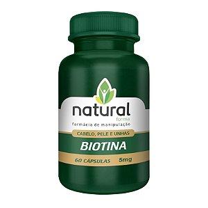 Biotina 5MG 60 Cápsulas