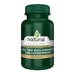 Pill Food Maxx Turbinado com Exsynutriment 60 Doses